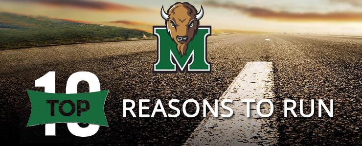 Top 10 Reasons To Run In The Marshall Marathon